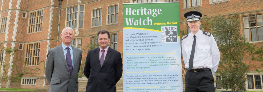 Case Study Template 7 - Herts - Heritage Watch launchphoto